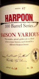 100 Barrel Series #47 - Saison Various