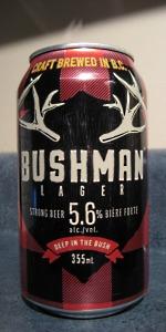 Bushman Lager