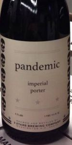 Pandemic Imperial Porter
