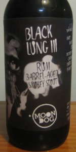 Black Lung III Rum Barrel Aged Smokey Stout
