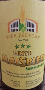 Linth Maisbier Sommer Ale
