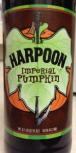 Harpoon Imperial Pumpkin