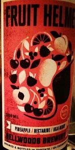 Bellwoods / Evil Twin Fruit Helmet (Pineapple, Nectarine & Goji Berry)