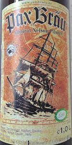 Admiral Nelson Pilsner