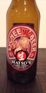 Matso's Lychee Beer