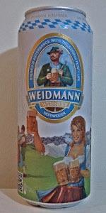 Weidmann Hefeweissbier (Hefetrüb)