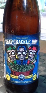 Snap, Crackle, Hop Imperial Rice IPA