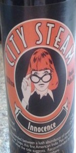 City Steam Innocence Ale (IPA)