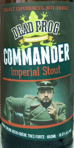 Commander Imperial Stout
