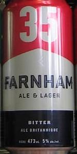 Farnham Ale & Lager 35 - Bitter British Ale