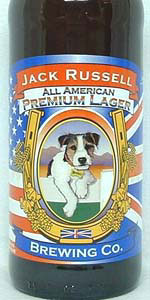 Jack Russell All American Premium Lager