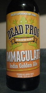 Immaculate India Golden Ale