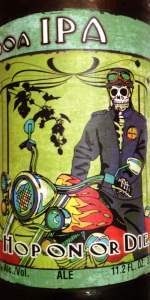 Day Of The Dead Beer (Cerveza De Los Muertos) Hop On Or Die DOA IPA