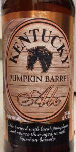 Kentucky Pumpkin Barrel Ale