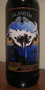 Barn Owl Imperial Brown Ale