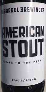 Power To The People Stout