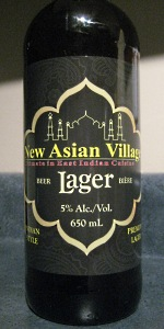 New Asian Village Lager