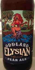 Oddland Spiced Pear Ale