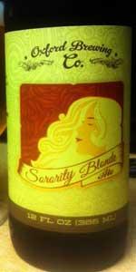 Sorority Blonde