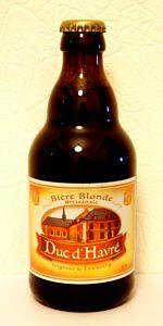 Duc D'Havré (Seigneur De Tourcoing) Biere Blonde