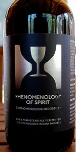 Phenomenology Of Spirit (2013)