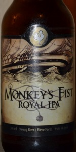 Big Rock Monkey's Fist Royal IPA