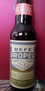 American Hefe Proper