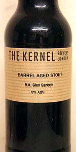 Barrel Aged Stout (B.A Glen Garioch)