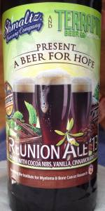 Reunion Ale '13 - A Beer For Hope