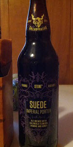 Stone / 10 Barrel / Blue Jacket Suede Imperial Porter