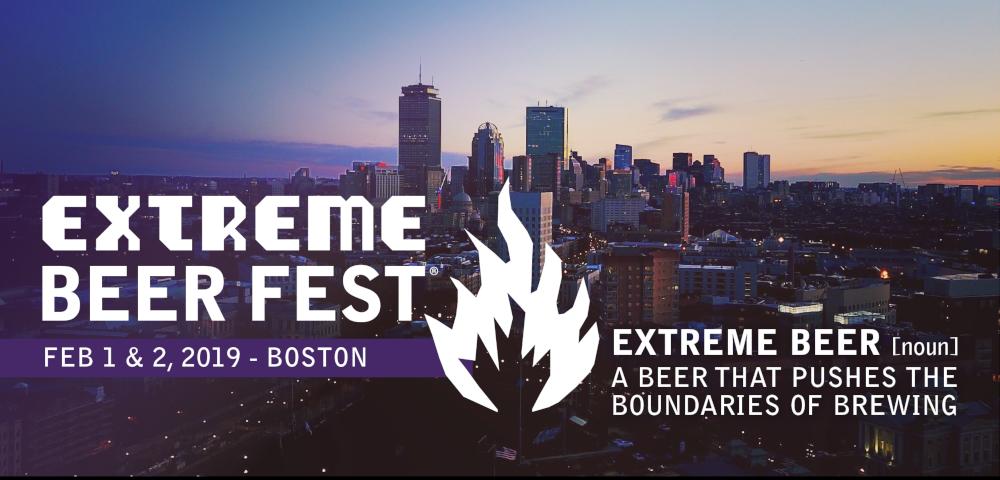 Extreme Beer Fest: February 1 & 2, 2019, Boston, Mass.