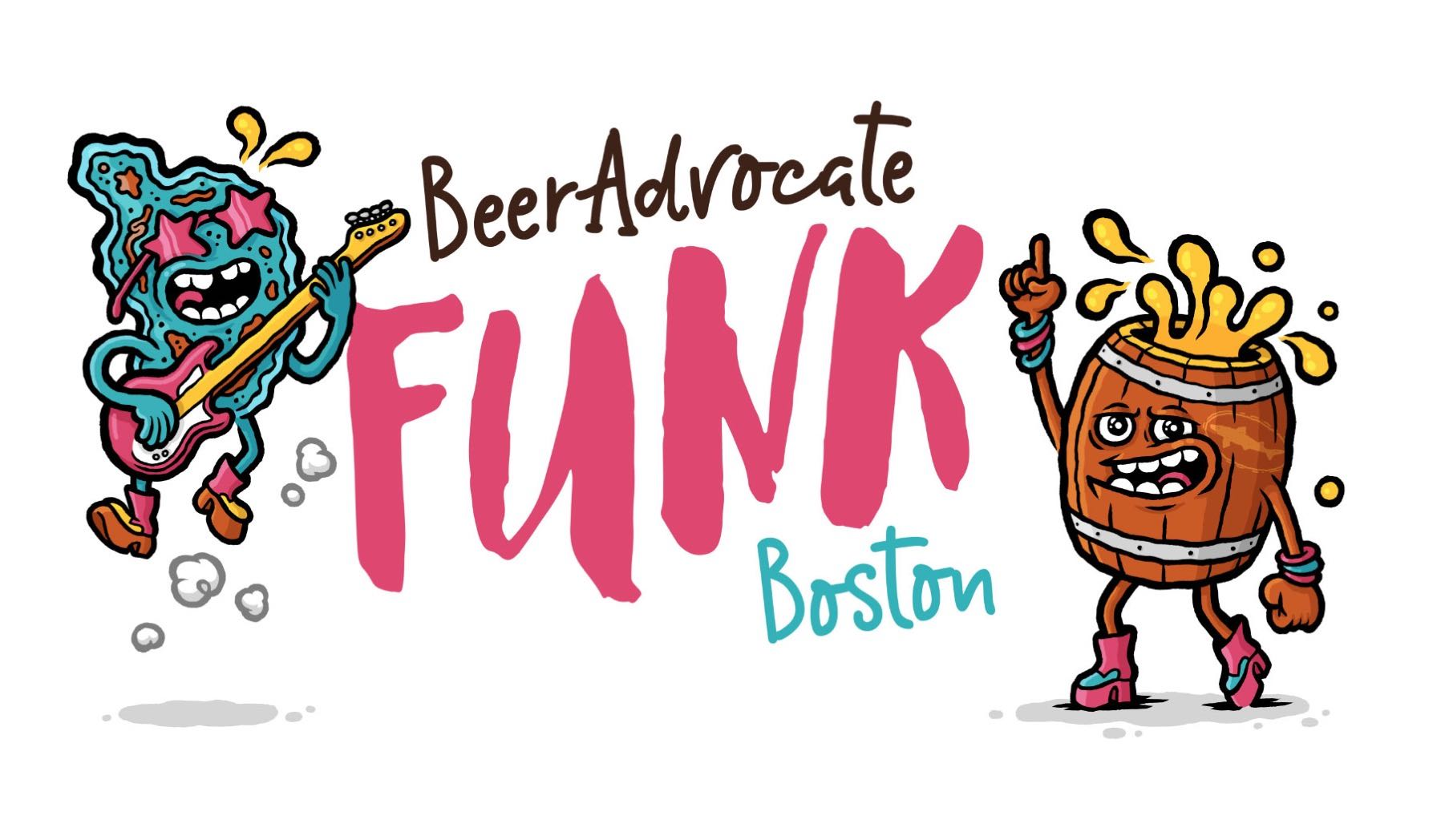 FUNK Boston: June 14 & 15, 2019, Boston, Mass. Illustration by Michael Hacker: http://www.michaelhacker.at