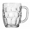 Dimpled Mug Glass