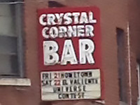 Crystal Corner Bar