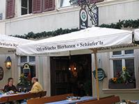 Kachelofen Fränkisches Gasthaus