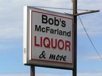 Bob's McFarland Liquors