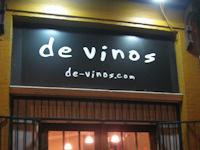 De Vinos Wine Shop