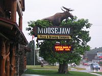 Moosejaw Pizza & Wisconsin Dells Brewing Co.