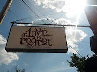 Of Love & Regret Pub & Provisions