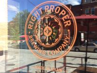 Right Proper Brewing Company - Shaw Brewpub