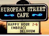 European Street Cafe - Beach Blvd