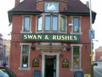 Swan & Rushes