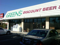 Greens Discount Beer & Wine