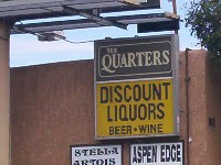 Quarters Discount Liquors